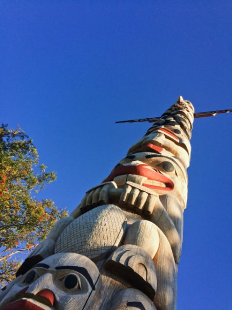 Totem Pole at the Resort at Port Ludlow Olympic Peninsula WA 3