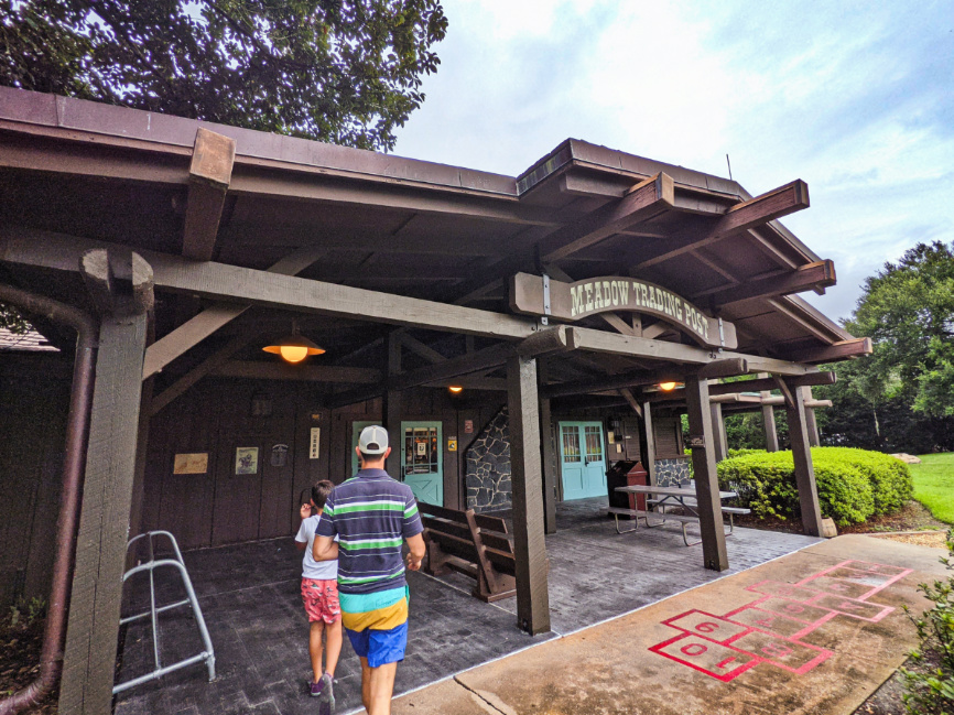 Trading Post at Meadows Swimming Pool Fort Wilderness Resort and Campground Disney World 1
