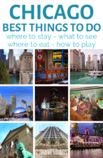 8 unforgettable activities for when you're traveling to Chicago (including a bonus plan) for exploring the city and seeing the best of the best. Art, Chicago architecture, when to stay and more. #Chicago #city #vacation #thingstodo