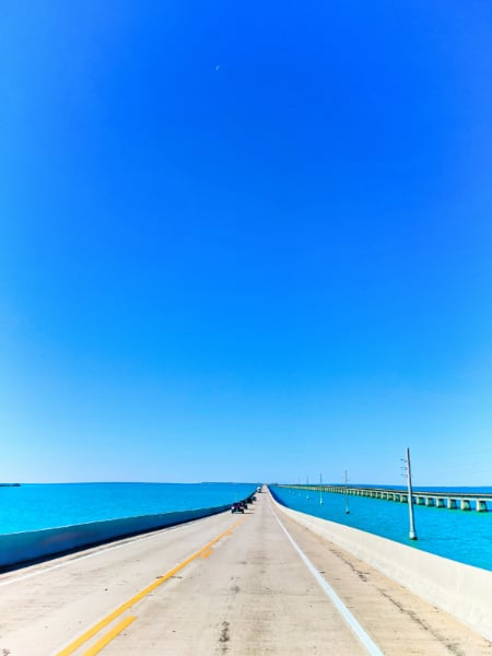 Turquoise Waters from the Overseas Highway Florida Keys 2020 5