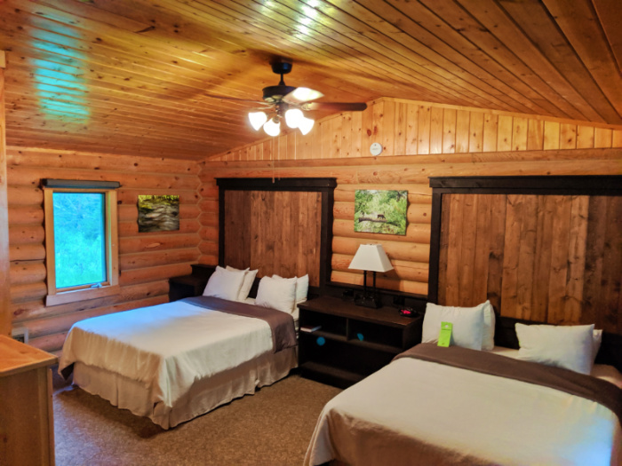Two Queen cabin at 320 Guest Ranch Big Sky Montana 1