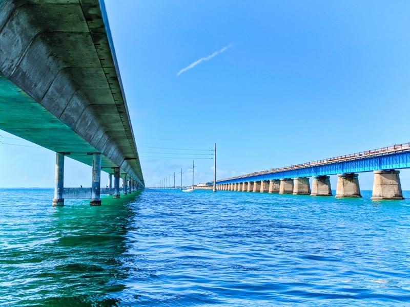 Underneath Seven Mile Bridge Marathon Key Florida Keys 2020 2