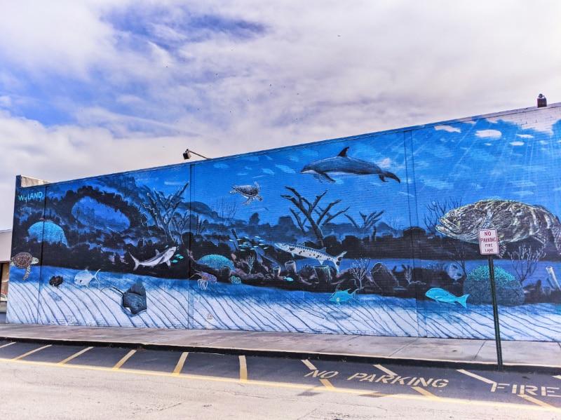 Undersea Mural Artist Wyland Marathon Key Florida Keys 2020 1
