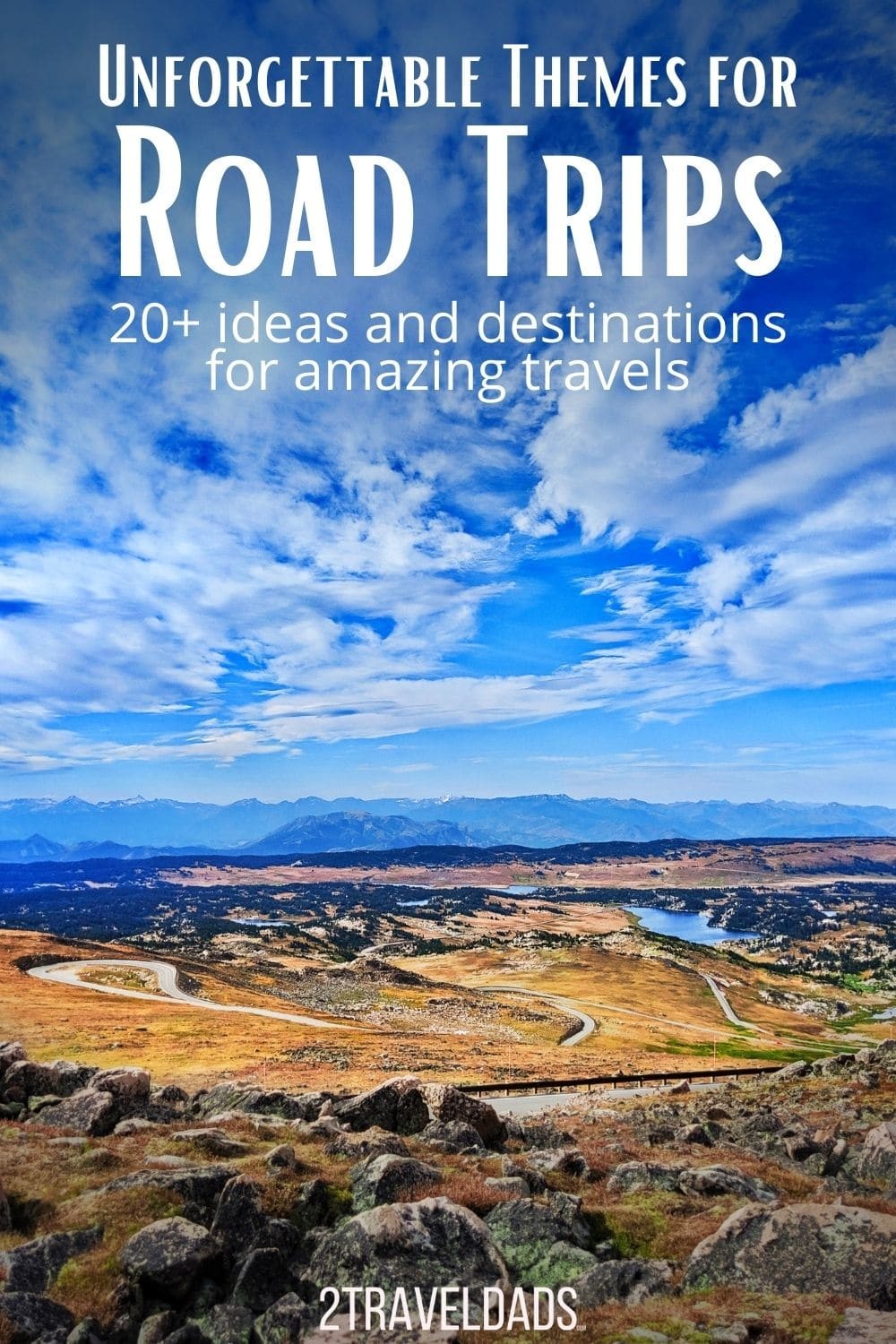 20+ themes for road trips that you will never forget. From epic photography journeys to family fun or romantic vacations, these road trip themes and plans are sure to inspire new and amazing adventures.