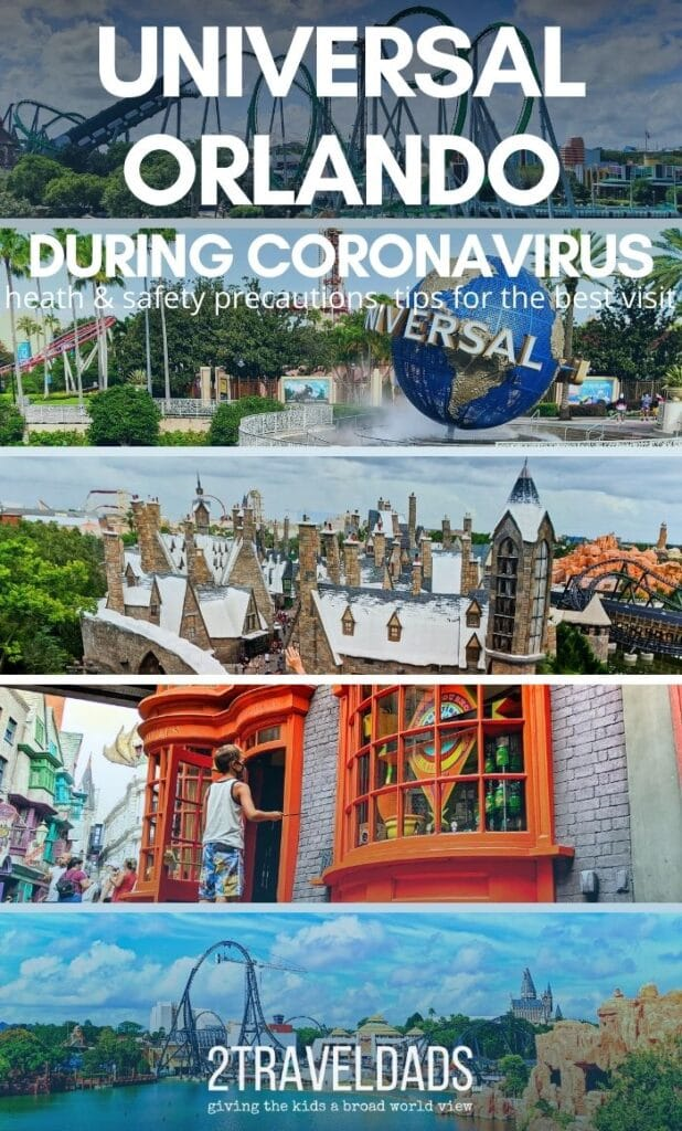 Visiting Universal during Coronavirus is both fun and something to be wary of. See how it compares to Disney in managing health and safety, crowd control and what they are doing really well.