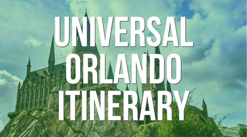 Universal Orlando Itinerary Landing