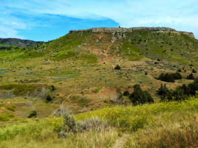 View at Madison Buffalo Jump State Park Three Forks Montana 3