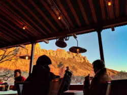 View at Zion Pizza and Noodle Co Springdale Utah 1
