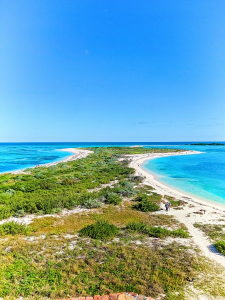 View from Fort Jefferson Dry Tortugas National Park Key West Florida Keys 2020 2