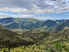 View from Hiking path at Lewis and Clark Caverns State Park Montana 1