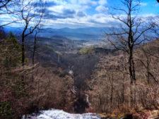 View of Blue Ridge Mountains from Amicalola Falls State Park Georgia 5