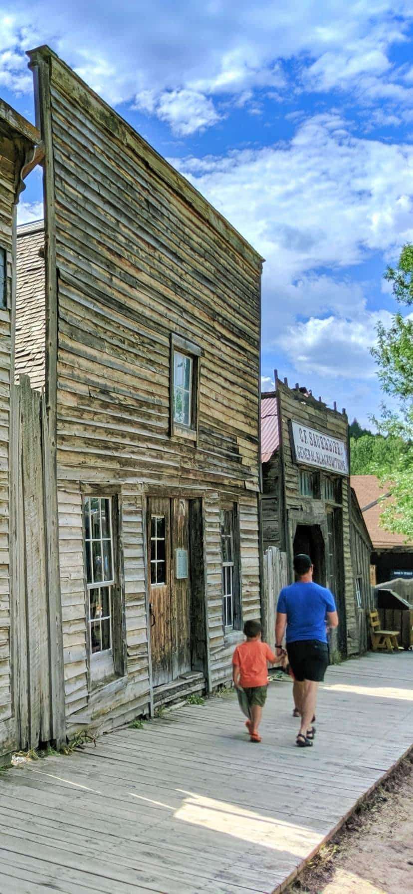 Virginia City Ghost Town Montana Road Trip