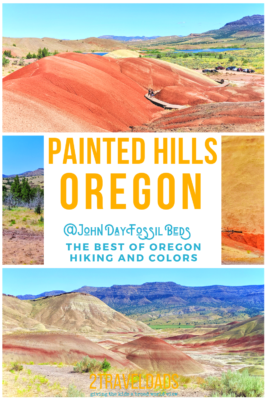 Visiting the Painted Hills of Central Oregon is a beautiful day of hiking, fossils and nature. #oregon #hiking