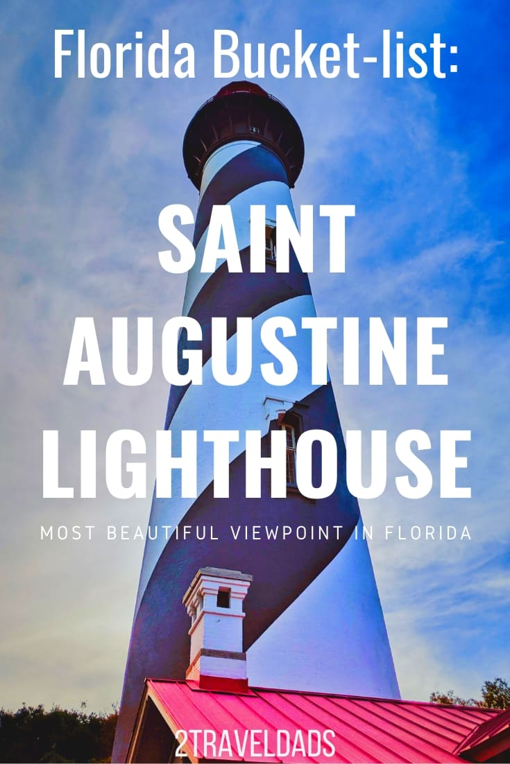 If you're in St Augustine, FL you need to visit the Saint Augustine Lighthouse! It's one of the tallest in the USA and is the prettiest lighthouse in Florida. Information on touring the lighthouse, maritime museum and more. #Florida #lighthouse #vacation