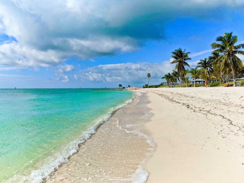 Walking on Sombrero Beach Marathon Florida Keys 2020 2