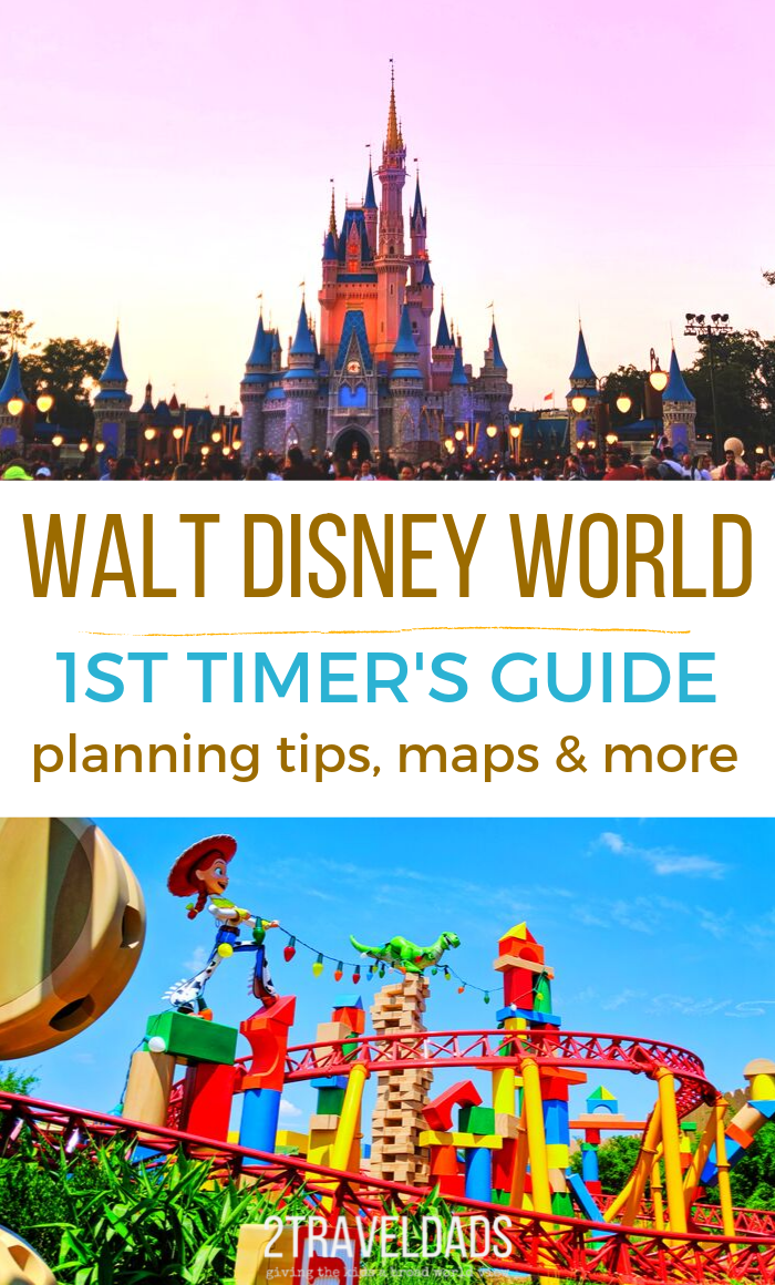 First timer's guide to planning a Walt Disney World vacation. 10 things you need to know and two bonus tips to make the most of your time at Disney World. #Disney #DisneyWorld #Florida