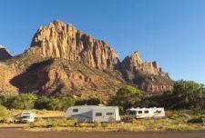 Watchman Campground Zion National Park