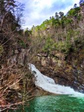 Waterfalls at Tallulah Gorge State Park Tallulah Falls North Georgia 6