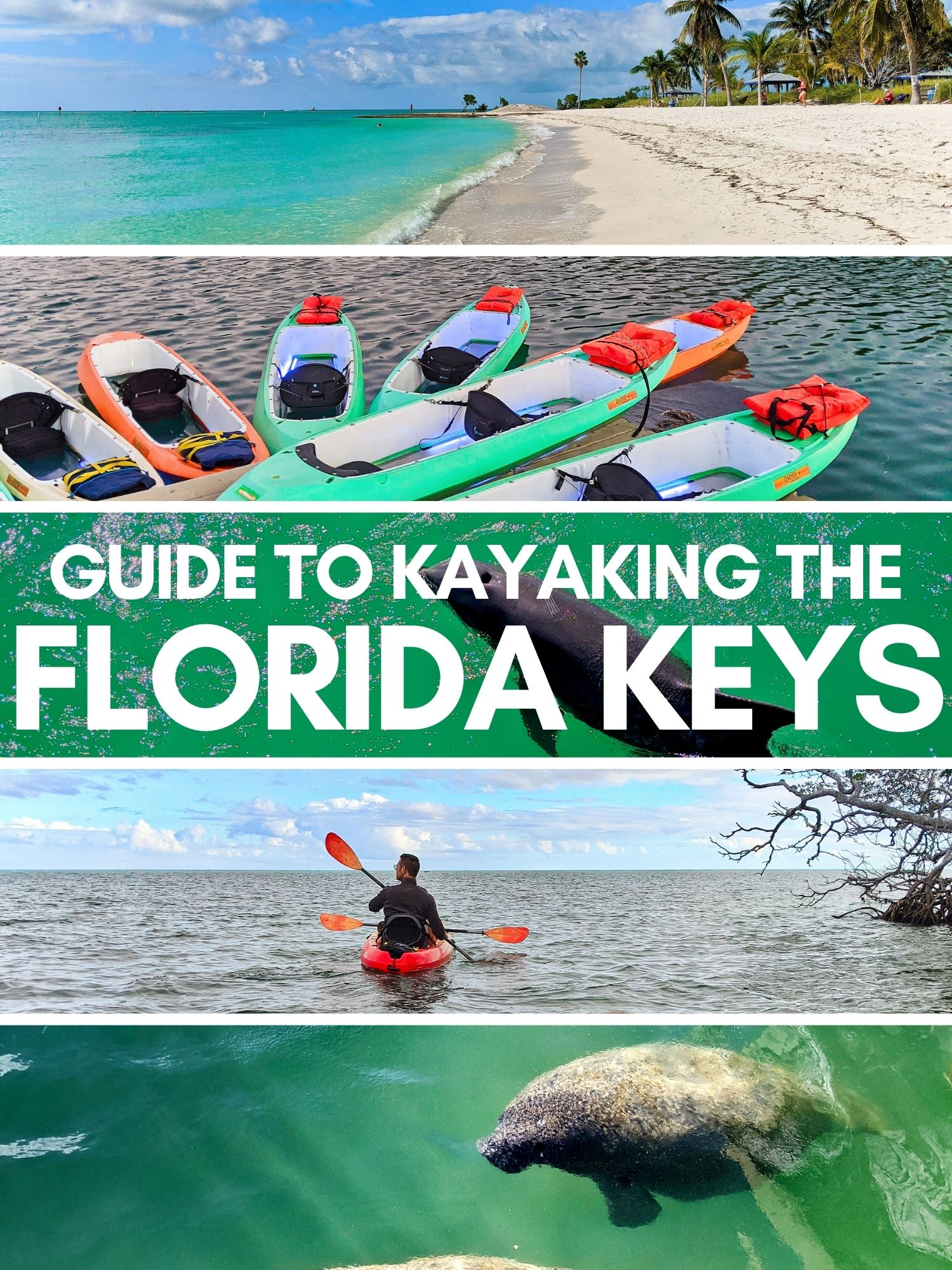 Kayaking in the Florida Keys is beautiful and unique, a once in a lifetime paddling opportunity. Best places to kayak from Key West to Key Largo, launch sites, paddling routes and wildlife viewing.
