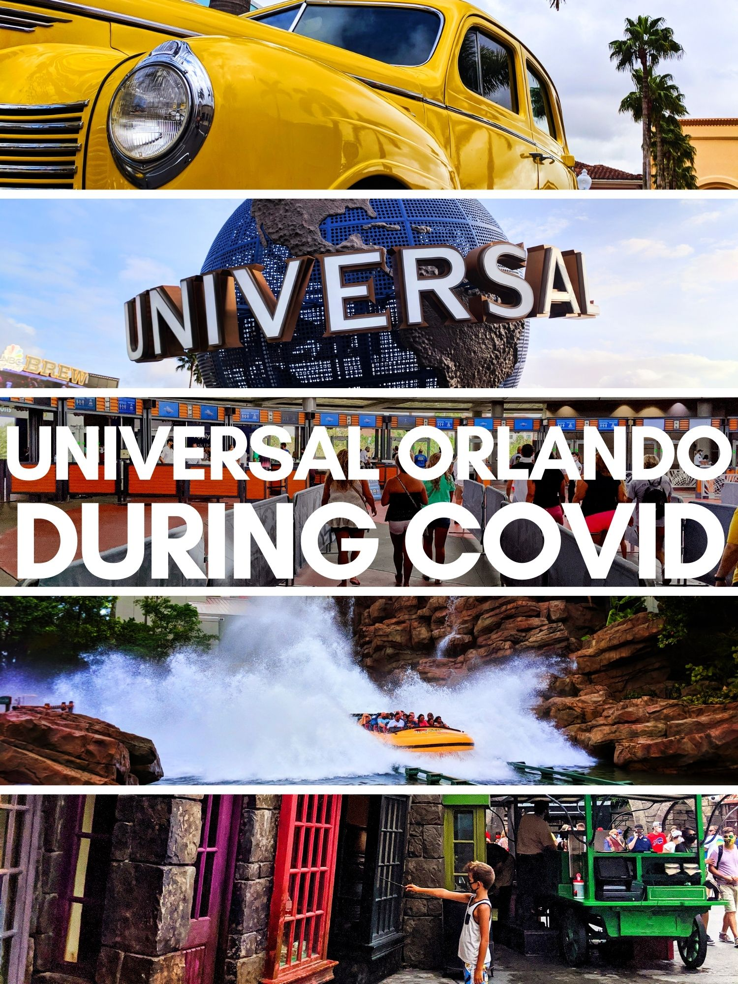 Visiting Universal Orlando during COVID is different. Health and safety precautions as well as low capacity and smaller crowds make visiting Universal during Coronavirus easy.