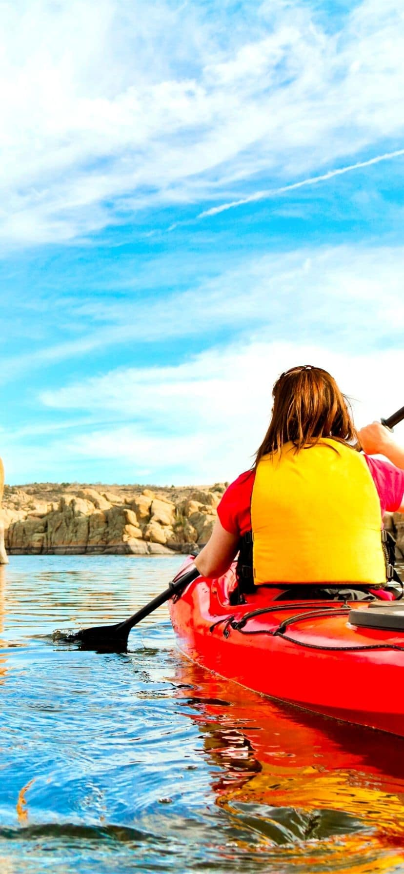 Prescott AZ kayaking is a bonus next to Old West towns and history.