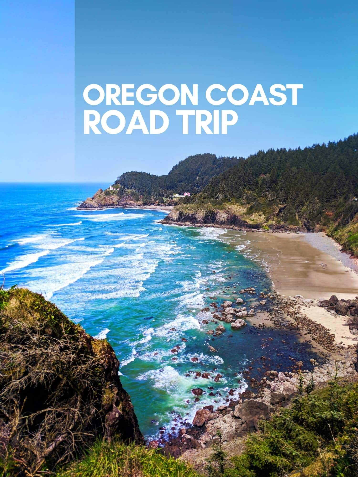 Complete Oregon Coast road trip itinerary from north to south. Best things to do, sights to see and where to stay along the rugged Oregon Coast.