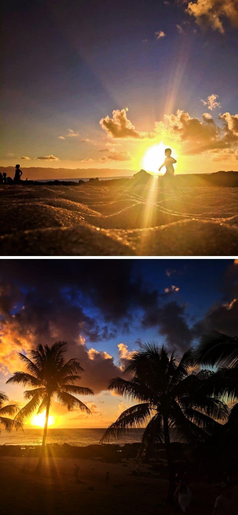 Sunset Beach at Pupukea, Oahu North Shore
