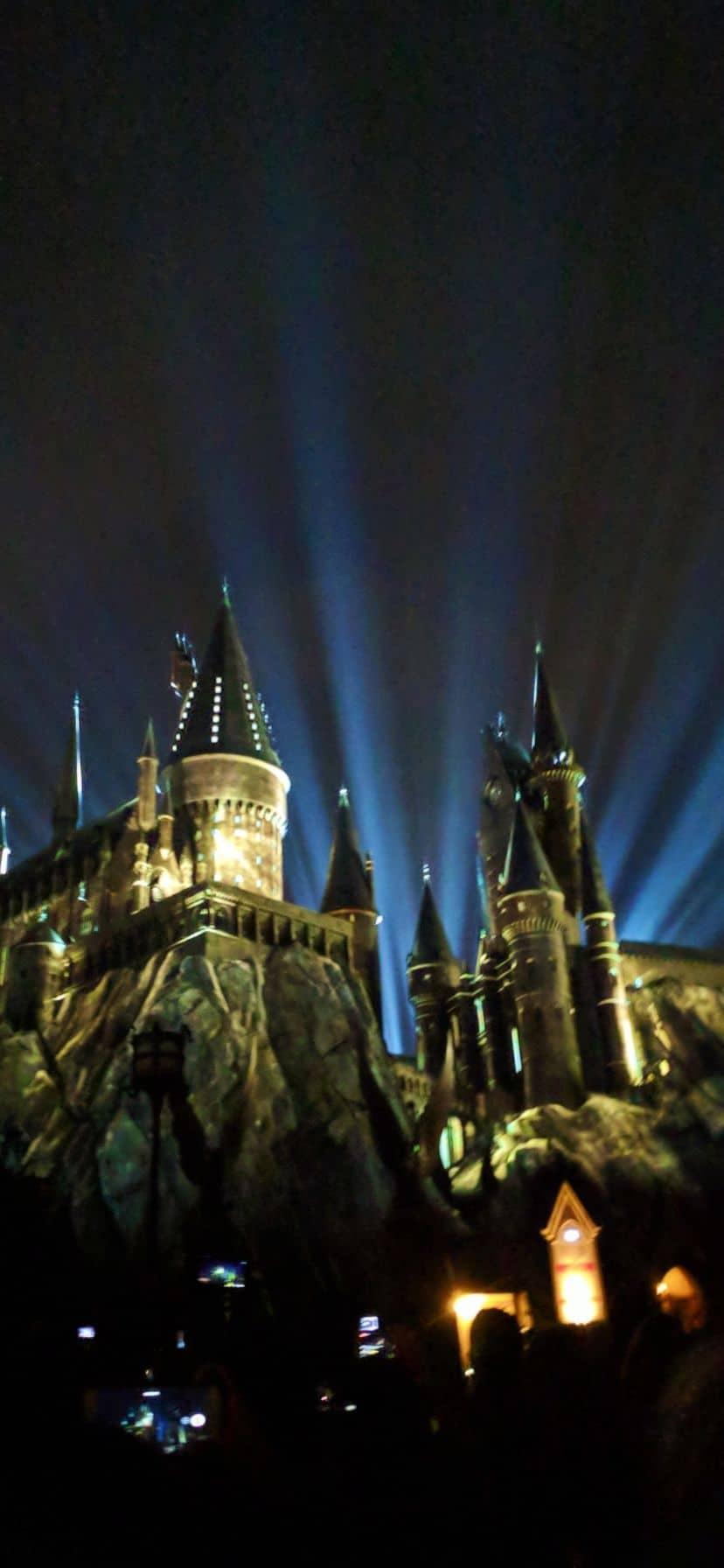 Light on Hogwarts at Universal Orlando, Islands of Adventure