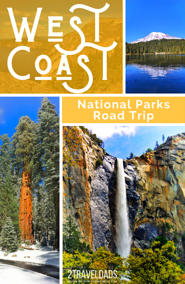 This National Parks road trip plan hits the best parks from Sequoia to Olympic National Park. Complete itinerary with time plan and lodging options from California to Washington.