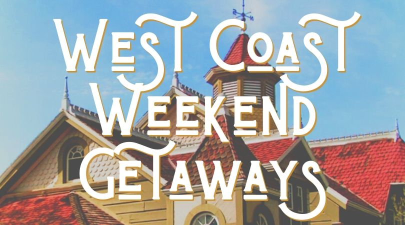 There are so many great West Coast weekend getaways. From San Jose to the San Juans, we've got a ton of easy weekend trip ideas.