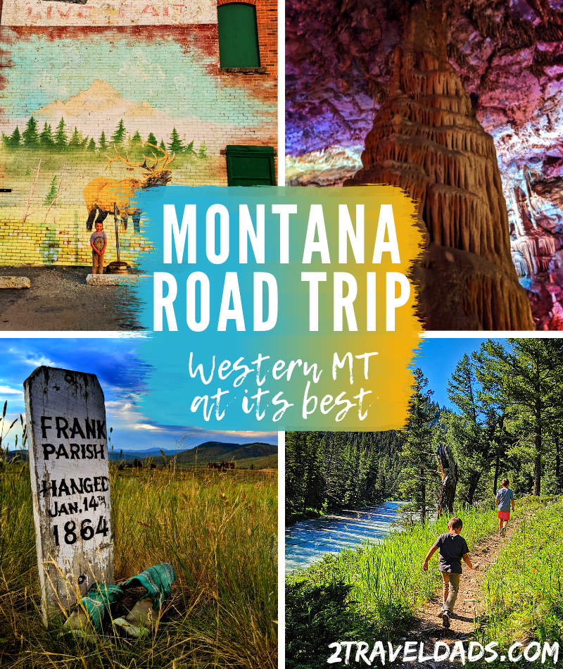 Montana roads are amazing and Western Montana is perfect for a road trip vacation. Dude ranches and mountain hiking, science and scenery. #roadtrip #montana #travel