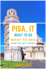 When you think about what to do in Pisa, there is more than the leaning tower. See how to get to Pisa via train, which train stations are where, and how to have an incredible day trip in Tuscany. #Italy #vacation #Tuscany #european
