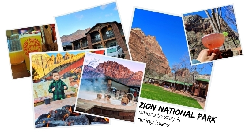 Planning where to stay at Zion National Park and knowing where to eat are big parts of a successful family trip to Utah, key to traveling on a budget.