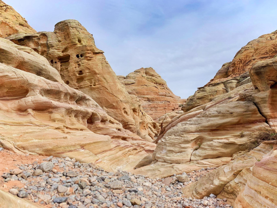 White Domes Loop trail at Valley of Fire State Park Las Vegas Nevada 1