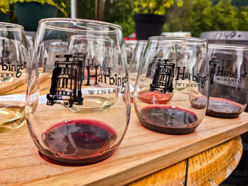 Wine Tasting at Harbinger Winery in Port Angeles Washington 2