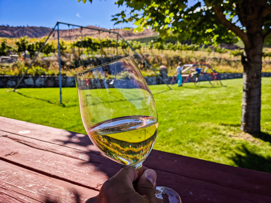 Wine Tasting at Tunnel Hill Winery Lake Chelan Washington 3