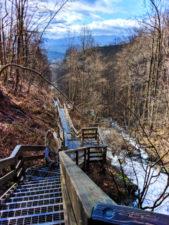 Winter at Amicalola Falls State Park Georgia 3