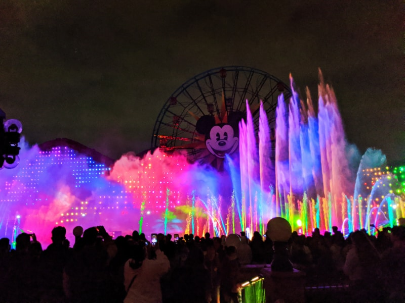 World of Color Show California Adventure Disneyland 2020 3
