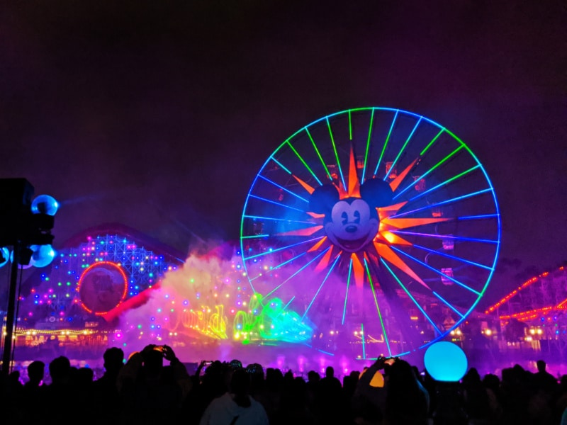 World of Color Show California Adventure Disneyland 2020 4