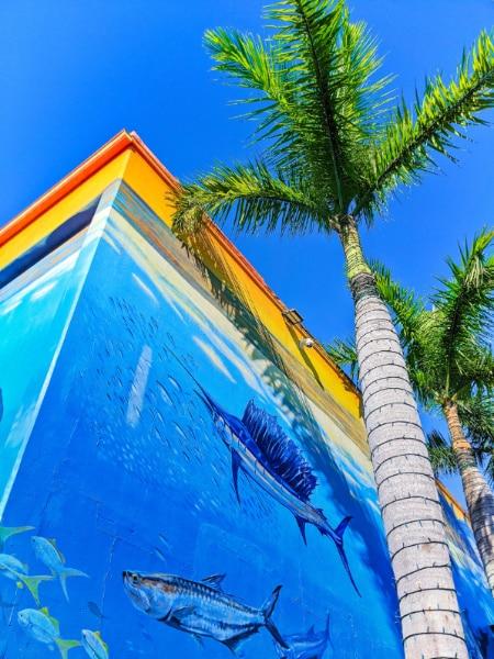 Wyland Guy Harvey Undersea Mural at Key West Waterfront Brewery Florida Keys 2020 6