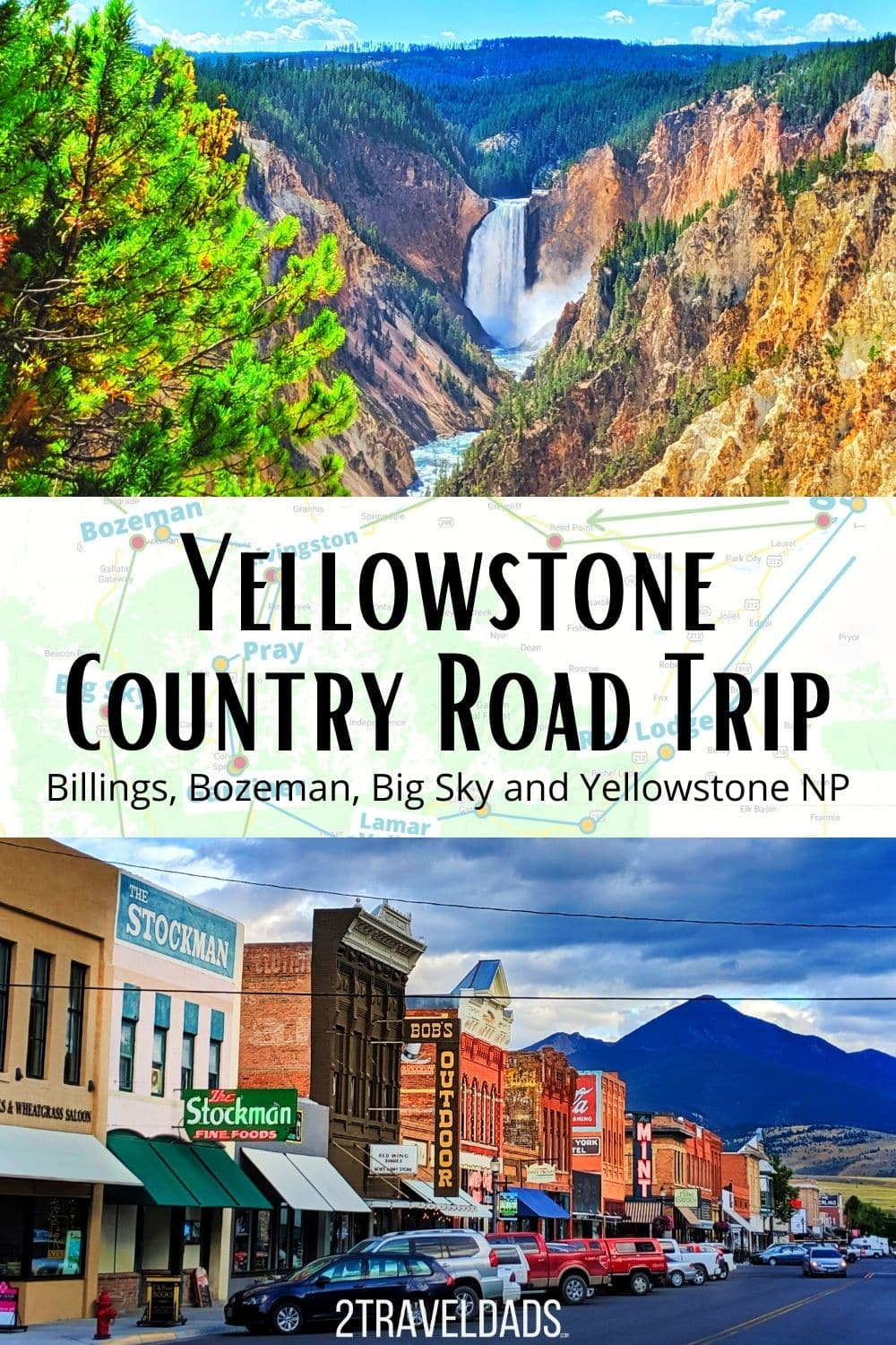 Yellowstone Country is perfect for a Montana road trip. Starting in Billings or Bozeman, explore Montana and Yellowstone National Park.