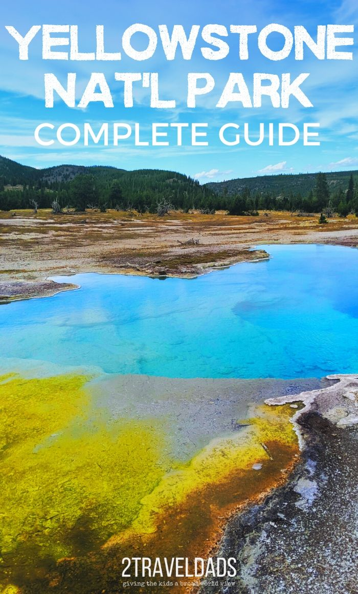 Complete guide to Yellowstone National Park with kids. Travel plans, itineraries, geysers, wildlife and more. Photography tips and being prepared for all weather in Yellowstone, this guide is perfect for family travel.