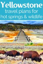 Two days' worth of travel plans for exploring the best of Yellowstone National Park.  In this episode we cover two days of traveling through Yellowstone. These two road trip routes go through the northwest corner of the park, stopping at Mammoth Hot Springs, Tower Falls, the Lamar Valley, and our best wildlife viewing tips.
