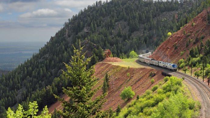 California Zephyr Amtrak through Nevada